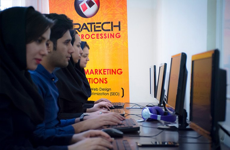 Faratech Pazh Data Processing
